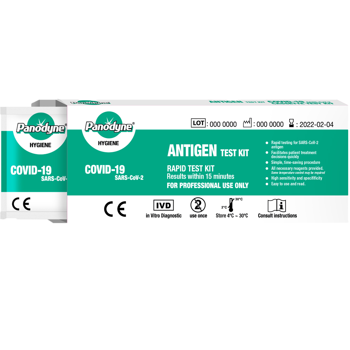 LATERAL FLOW RAPID COVID 19 TEST KITS IN STOCK