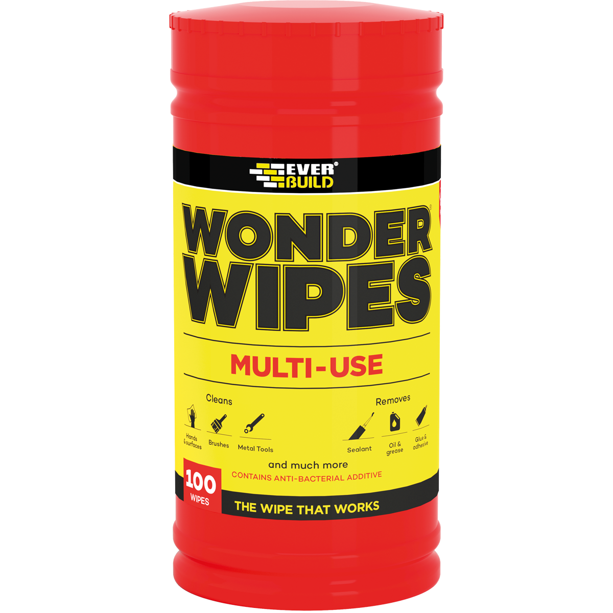 WONDER WIPES - ANTI-BACTERIAL SURFACE WIPES - BACK IN STOCK