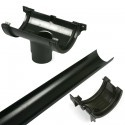 Cast Iron Style 160mm High Capacity Gutter