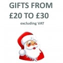 Gifts from £20 to £30