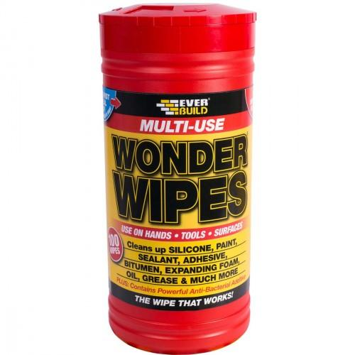 WONDER WIPES RED ORIGINAL      TRADE - TUB OF 100