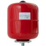 EXPANSION VESSEL 8 LITRE RED   HEATING ONLY VR8