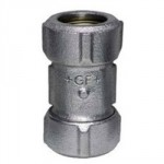 "GALV COMPRESSION COUPLING 1/2"" PRIMOFIT"