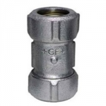 "GALV COMPRESSION COUPLING      1.1/2"" PRIMOFIT"