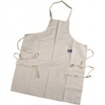 COTTON APRON WHITE CAPR        72930 DRAPER