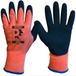 WATERSAFE LATEX BALTIC THERMAL GLOVES SIZE 9 CUT 2 ORANGE