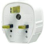 TOUGH PLUG WHITE 13 AMP MK 655