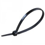 CABLE TIES 300 X 4.8MM BLACK