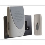 DOOR CHIME WIREFREE PLUG IN    100M LIGHT BY202F BYRON