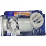 "INLINE SHOWER FAN C/W TIMER 4"" SF100TB"