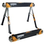 STEEL SAW HORSE TELESCOPIC     TWIN PACK C700-2 TOUGHBUILT