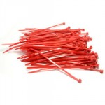 CABLE TIES 200 X 4.8MM RED