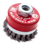 TWIST KNOT WIRE CUP BRUSH      70MM M10 0247 SIT