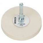 POLISHING MOP FELT & ARBOR     80MM 2608620647 BOSCH