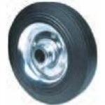 "SOLID TYRE WHEEL 8"" X 1"" BORE  PLAIN BEARING FOR SACK TRUCK"