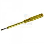 MAINS TESTER SCREWDRIVER 3.5MM X 100MM 100-500V AC 440013