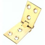 COUNTERFLAP HINGE BRASS 38MM   SOLD AS SINGLES
