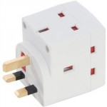 SOCKET OUTLET ADAPTOR 3 WAY    5688JE