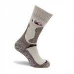 SOCKS FAWN MARL COTTON         LARGE VSOK4 FAWN