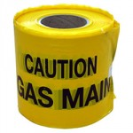 UNDERGROUND WARNING TAPE GAS   150MM X 365M