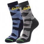 SOCKS PACK 2 CAMO 41-44 9219   8687 SNICKERS