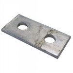 CHANNEL 2 HOLE PLATE GB02