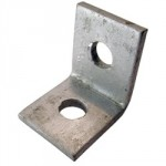 CHANNEL 90DEG ANGLE BRACKET    1 X 1 HOLE GB08A