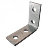 CHANNEL 90DEG ANGLE BRACKET    2 X 2 HOLE GB13A