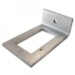 CHANNEL 41 X 41 WINDOW BRACKET GB2041