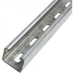 CHANNEL 41 X 41 SLOTTED STD    GAUGE 3 METRE CH4141S3