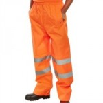 TROUSER MEDIUM ORANGE CLASS 1  WATERPROOF  TENOR