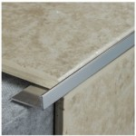 FLOOR TRIM L SILVER 2.44M X    12MM TLS116