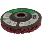 NON WOVEN ABRASIVE DISC 115MM  X 22MM BORE LONG LIFE SP-FV-RR