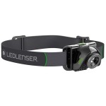 HEAD TORCH RECHARGEABLE 200    LUMENS MH6 501512 LED LENSER