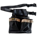 FRAMER'S NAIL/TOOL 5 POCKET POUCH WITH BELT PK-1836