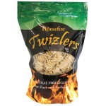 NATURAL WOOD FIRELIGHTERS TWIZLERS 300G BAG