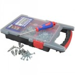 PLASTERBOARD FIXINGS KIT 200PC FORGEFIX