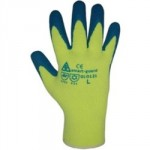 BUILDERS THERMO STAR WINTER    GLOVES HI VIS BLUE XL SIZE 10