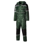 COVERALL PADDED WATERPROOF     GREEN MEDIUM WP15000 DICKIES
