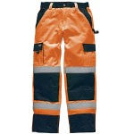 TROUSER 30 TO 32 SMALL ORANGE  HI VIS POLYCOTTON  SA45010