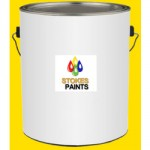 FLOOR PAINT ANTI SLIP GOLDEN   YELLOW 5L CH058 DISCONTINUED