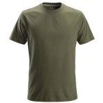 T SHIRT MEDIUM 3200 GREEN 2502 SNICKERS