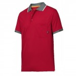 POLO SHIRT MEDIUM RED 37.5     TECH 2724 1600 SNICKERS