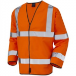 WAISTCOAT XL ORANGE HI VIS     SLEEVED CLASS 2 EN471