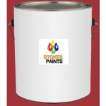 CHLORINATED RUBBER FLOOR PAINT RED 5 LITRE