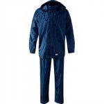 WET SUIT JACKET & TROUSER      LARGE NAVY WATERPROOF